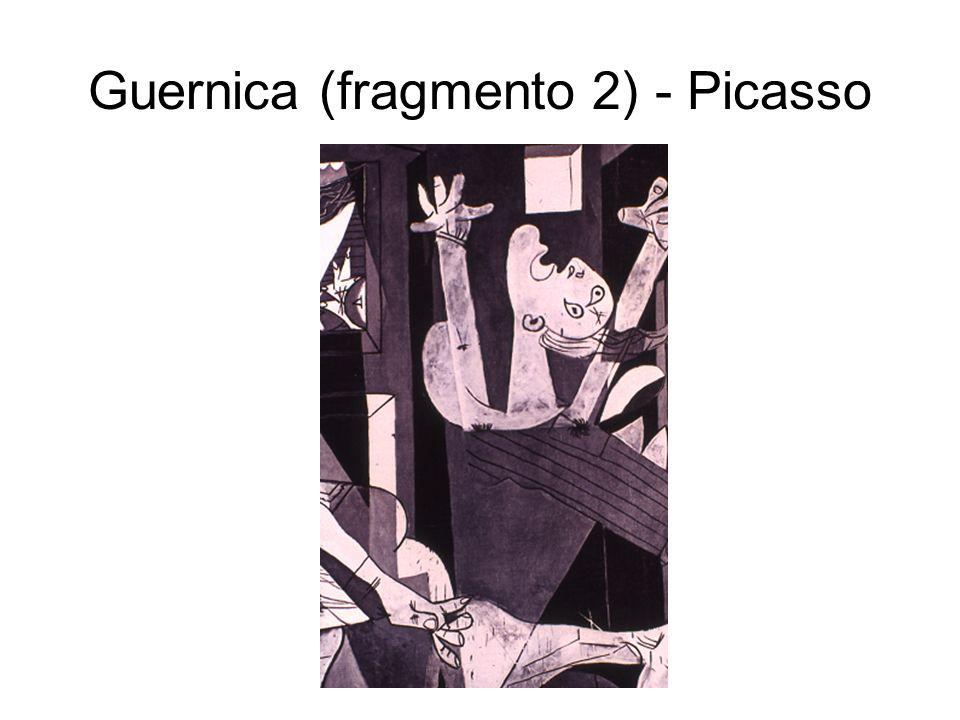 Guernica (fragmento 2) - Picasso