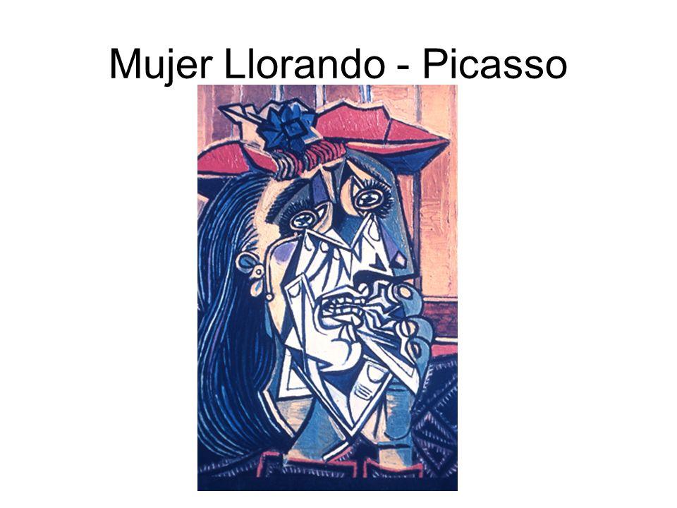 Mujer Llorando - Picasso