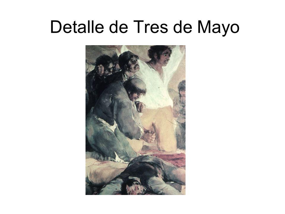Detalle de Tres de Mayo