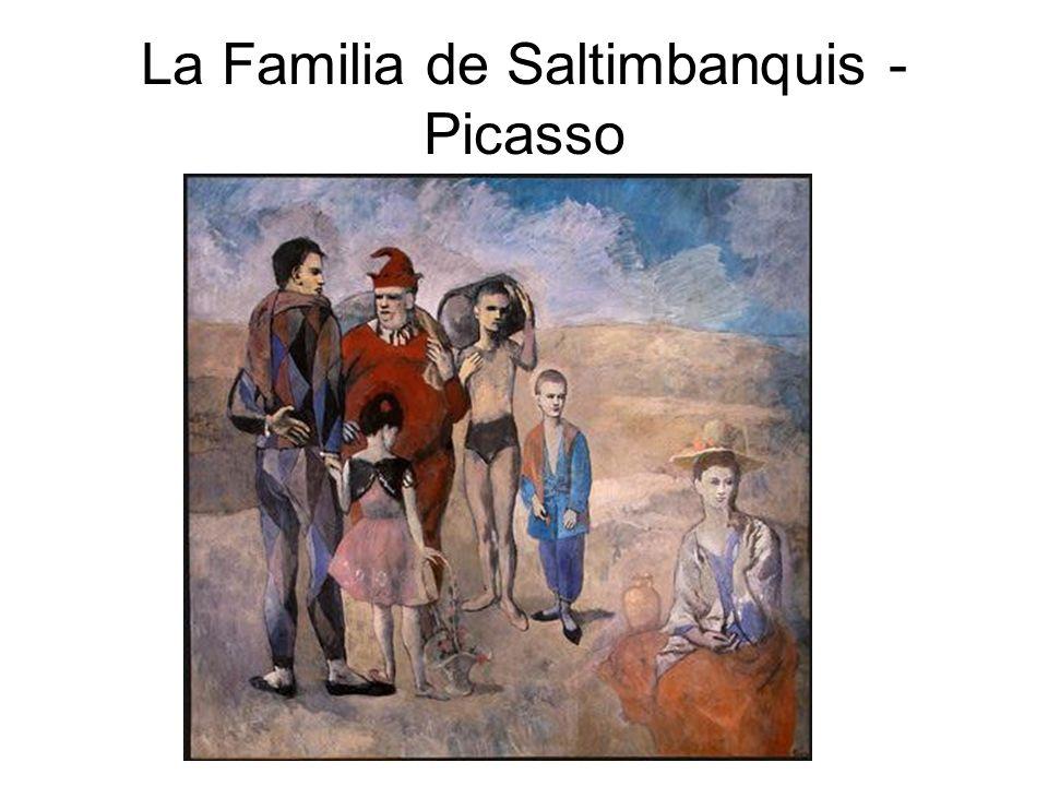 Las Señoritas de Aviñon - Picasso
