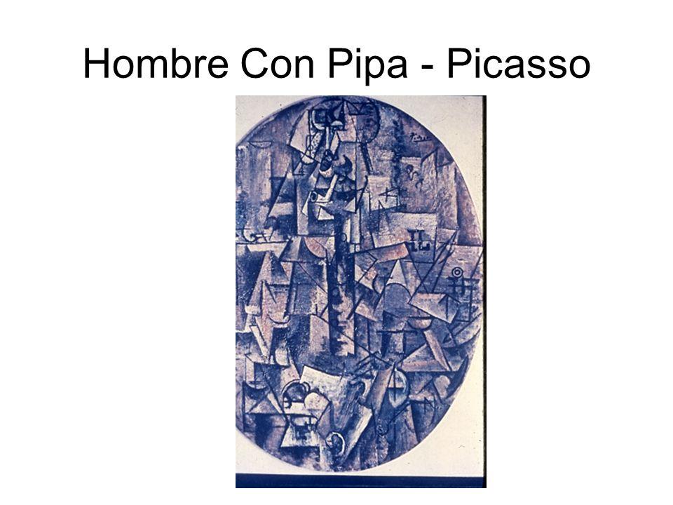 Hombre Con Pipa - Picasso
