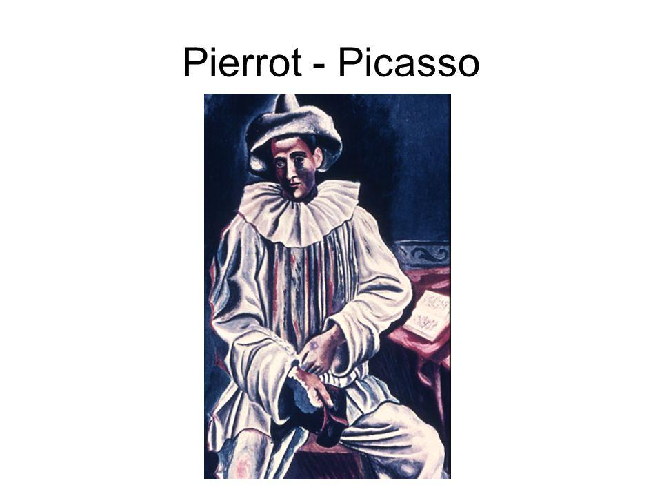 Pierrot - Picasso