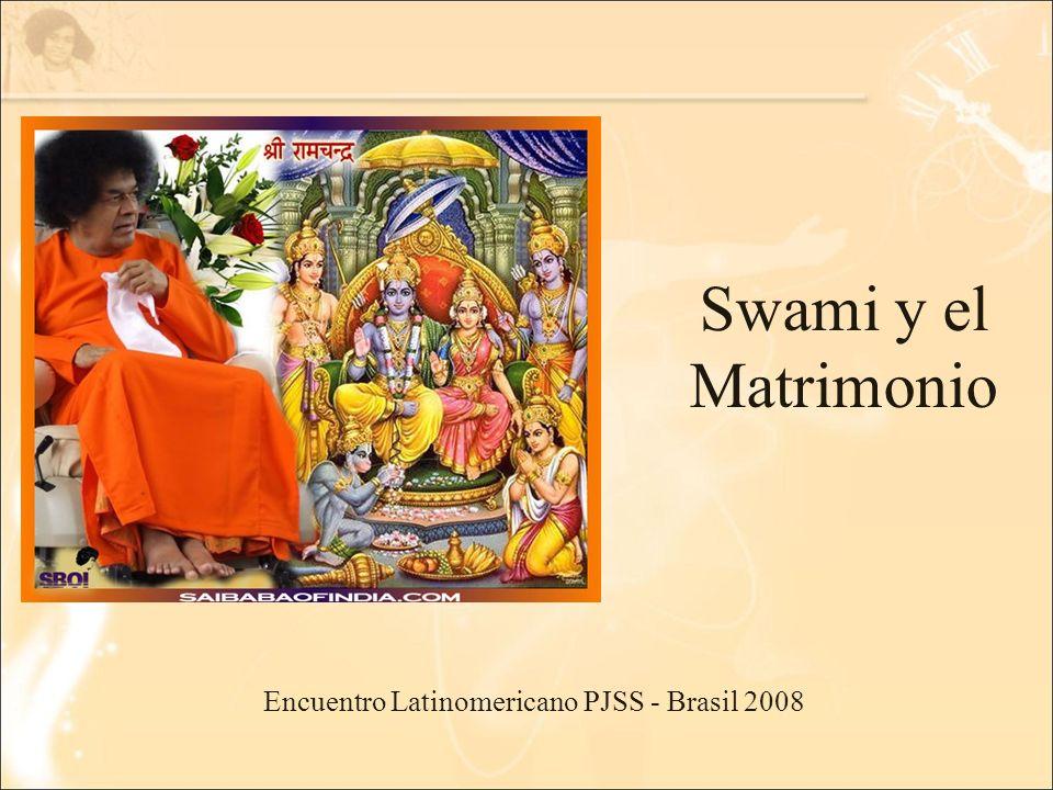 Encuentro Latinomericano PJSS - Brasil 2008 Swami y el Matrimonio