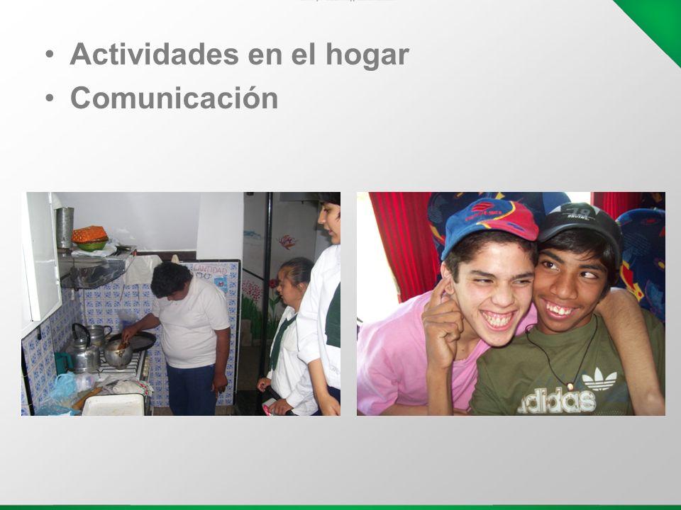 Actividades en el hogar Comunicación