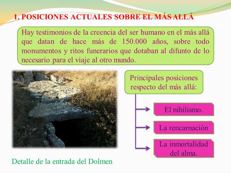 TEXTOS PARA LA REFLEXION El paradero de los difuntos (Julián Marías, la perspectiva cristiana, Madrid, 1999) El testimonio de los santos sobre la inmortalidad del alma.