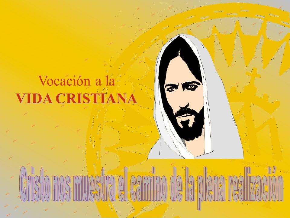Vocación a la VIDA CRISTIANA