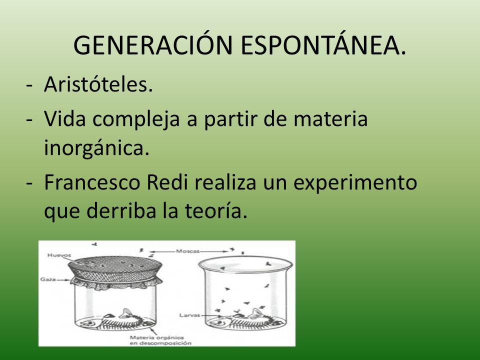 Louis Pasteur.-Experimento que abolía la generación espontánea por completo.