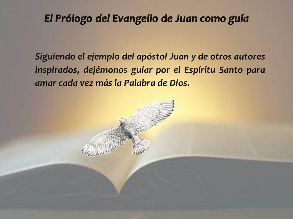 Siguiendo el ejemplo del apóstol Juan y de otros autores inspirados, dejémonos guiar por el Espíritu Santo para amar cada vez más la Palabra de Dios.