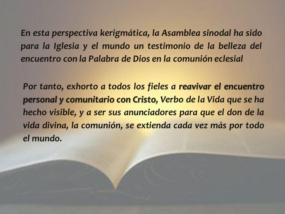 En efecto, participar en la vida de Dios, Trinidad de Amor, es alegría completa (cf.