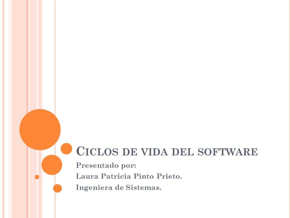 C ICLO DE VIDA POR PROTOTIPOS Si no se conoce exactamente cómo desarrollar un determinado producto o cuáles son las especificaciones de forma precisa.