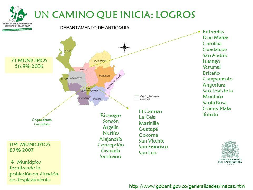 http://www.gobant.gov.co/generalidades/mapas.htm Entrerríos Don Matías Carolina Guadalupe San Andrés Ituango Yarumal Briceño Campamento Angostura San
