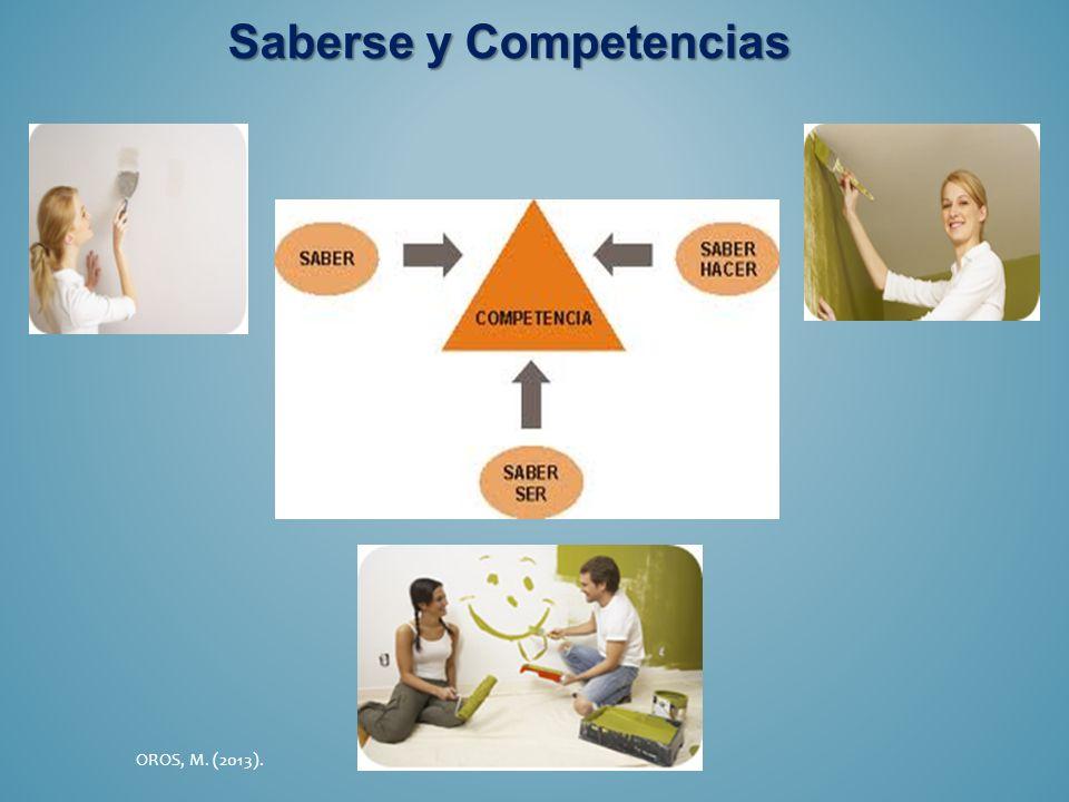 Saberse y Competencias OROS, M. (2013).