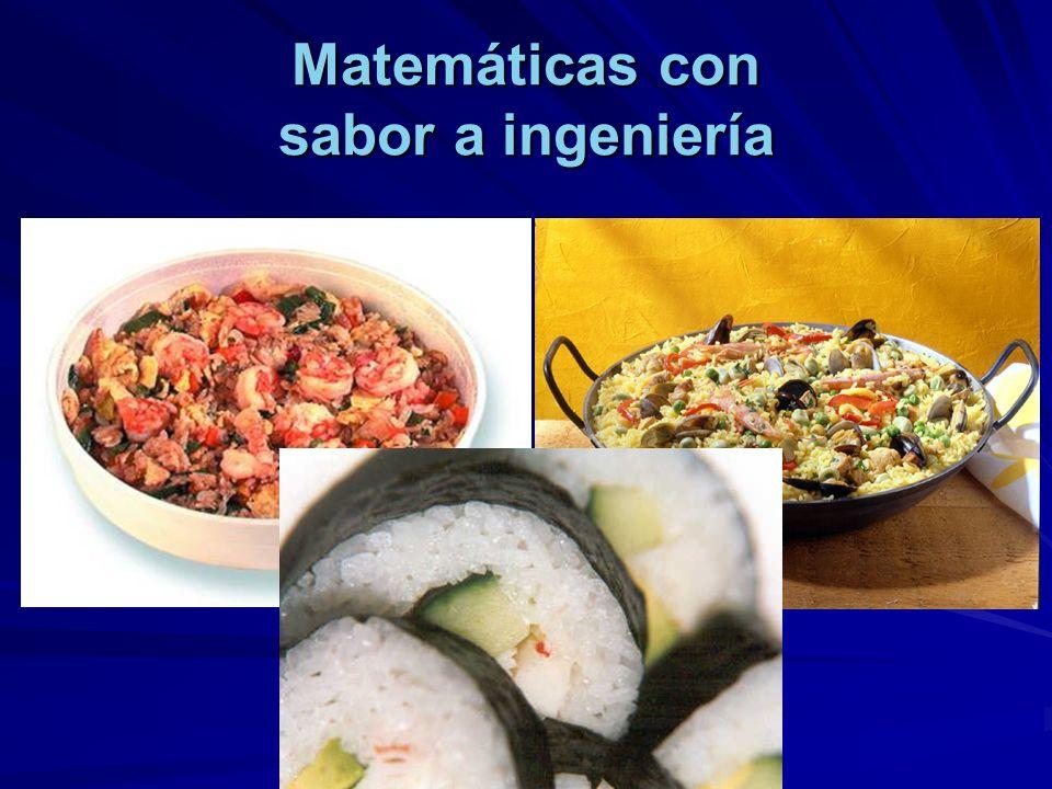 Matemáticas con sabor a ingeniería