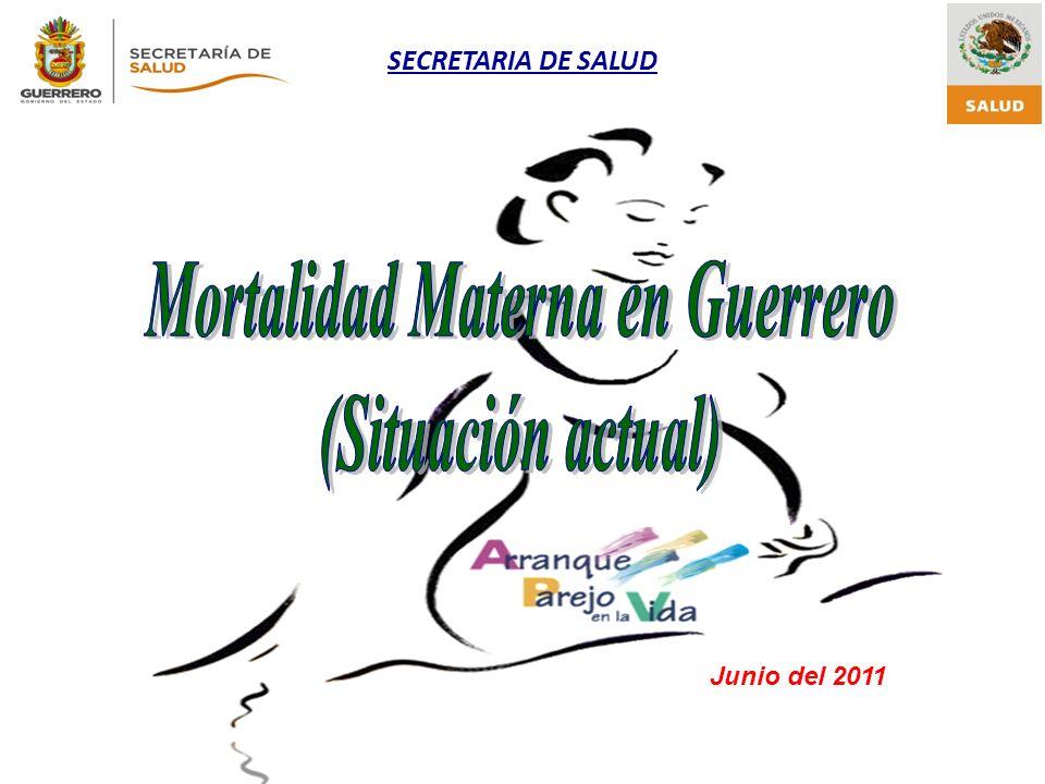 SECRETARIA DE SALUD Junio del 2011