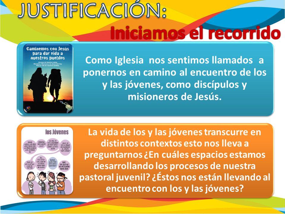 Despertar y reanimar a todos los agentes de PJ y con ellos a toda la Iglesia de México la pasión por evangelizar a las juventudes.