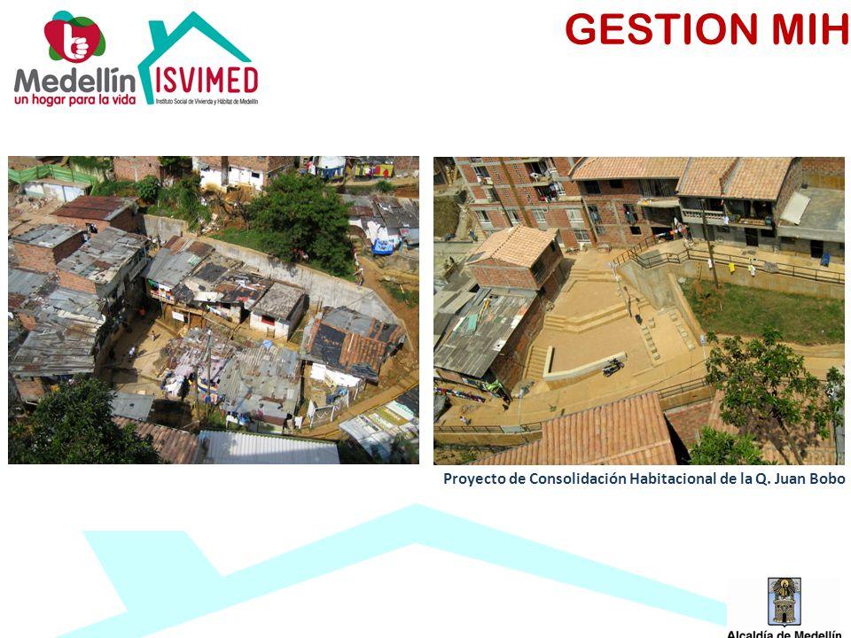 Proyecto de Consolidación Habitacional de la Q. Juan Bobo GESTION MIH
