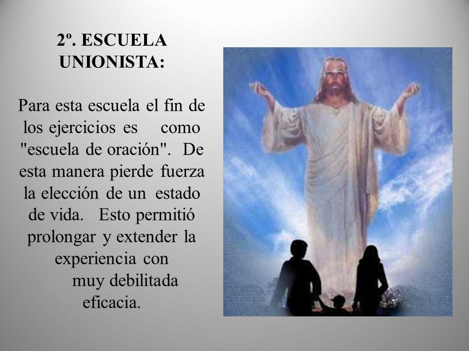 Aquí el ejercitador es el padre predicador (con lo que, o no se hace la experiencia de elección o ésta no es acompañada).