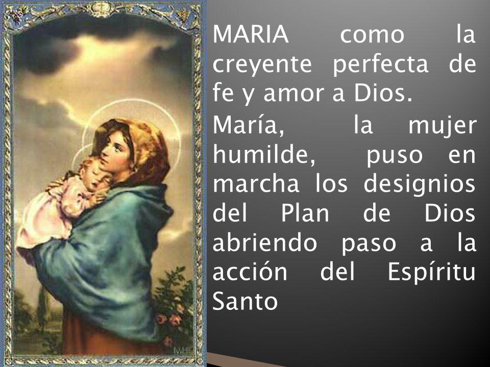 María cumple su misión de madre y Mujer y ser la madre de todos (Juan 19, 25 – 27).