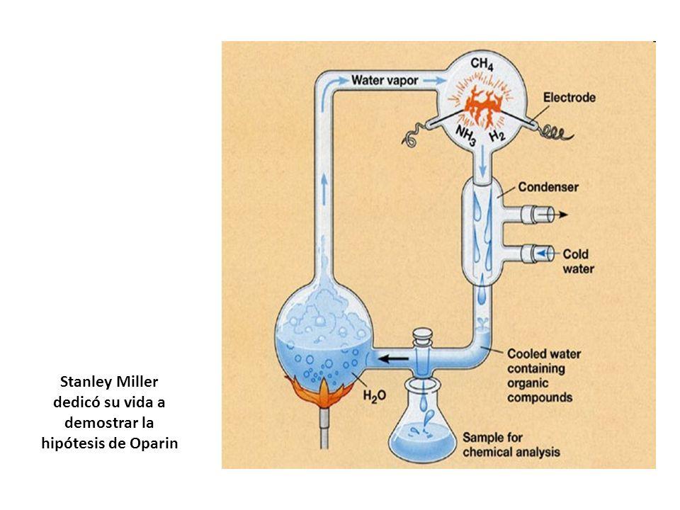 Stanley Miller dedicó su vida a demostrar la hipótesis de Oparin