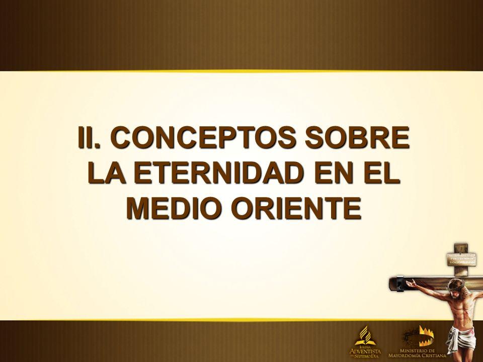 II. CONCEPTOS SOBRE LA ETERNIDAD EN EL MEDIO ORIENTE