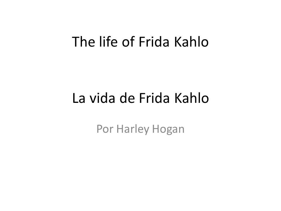 Who was Frida Kahlo.¿Que era Frida Kahlo.