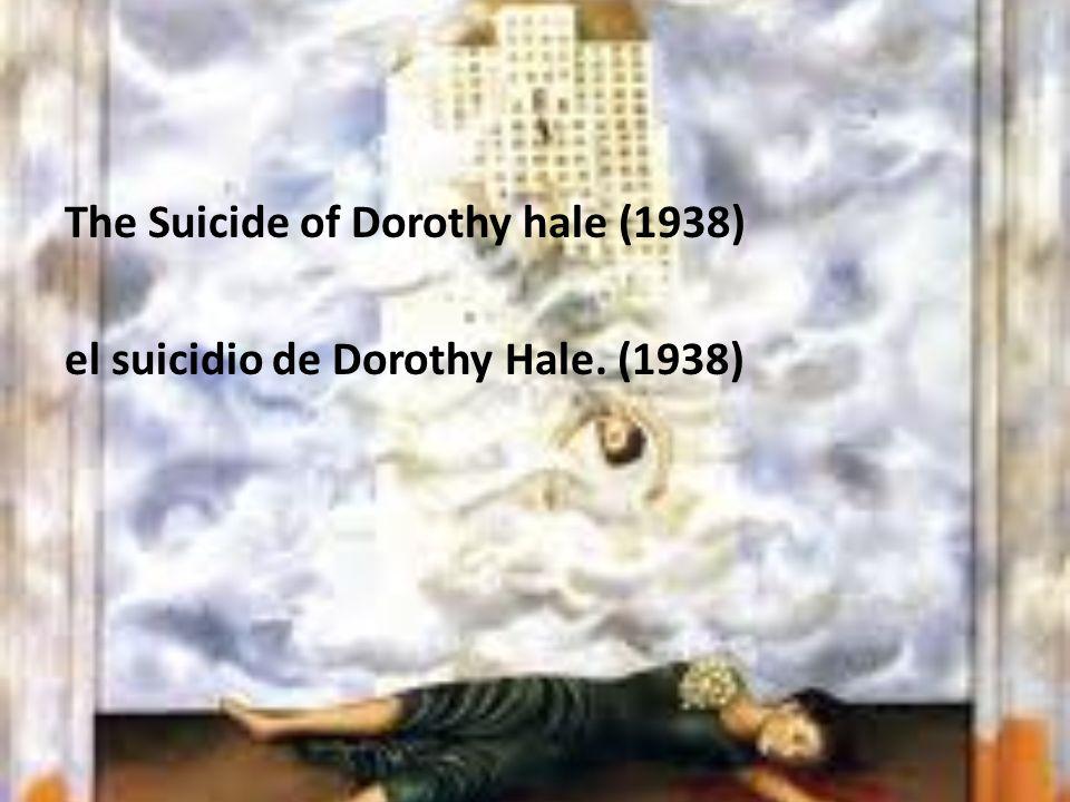 The Suicide of Dorothy hale (1938) el suicidio de Dorothy Hale. (1938)