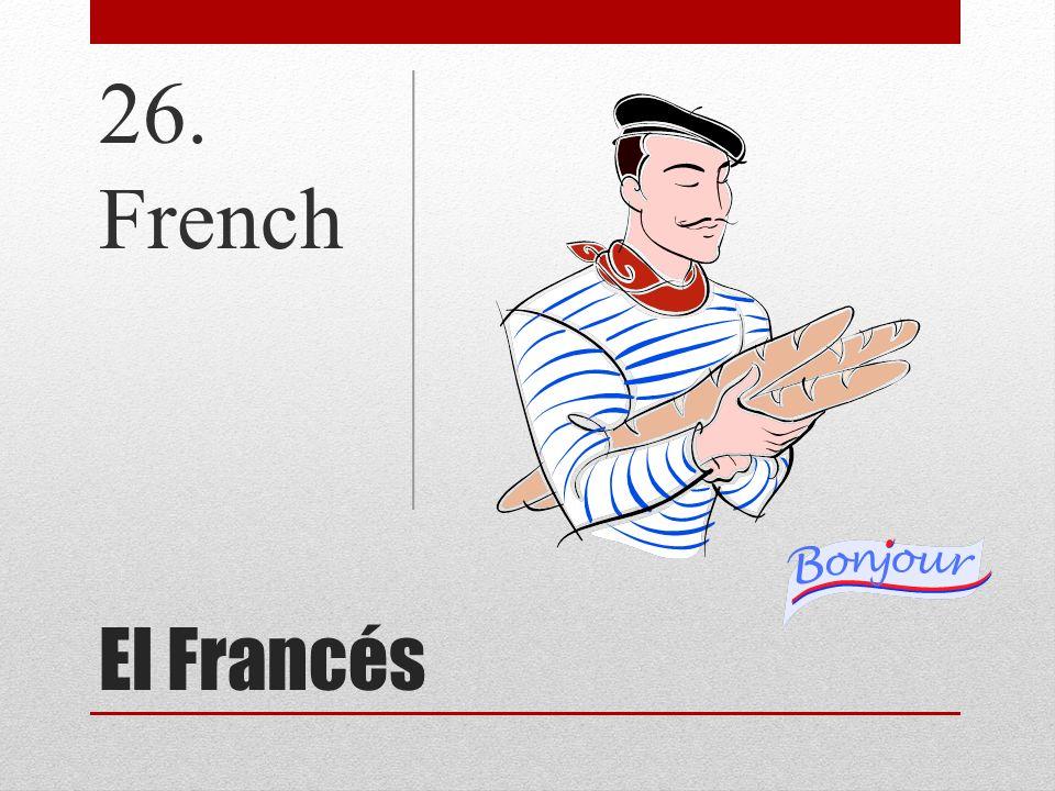 El Francés 26. French
