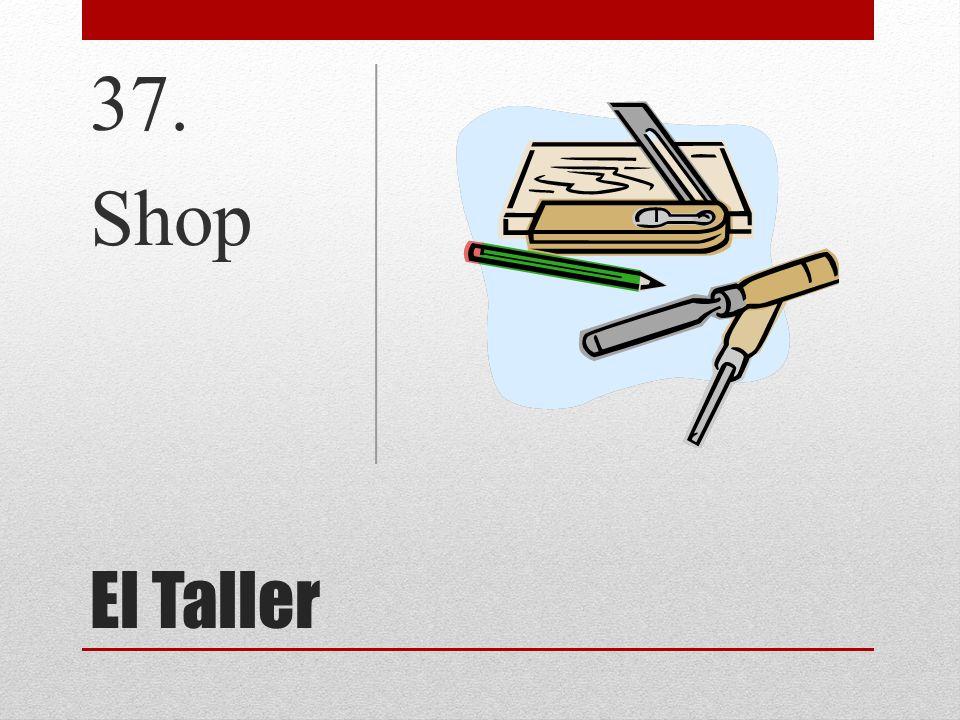 El Taller 37. Shop