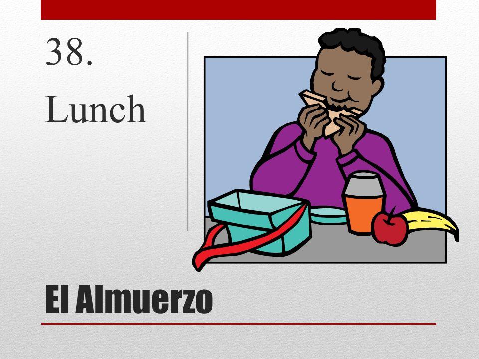 El Almuerzo 38. Lunch