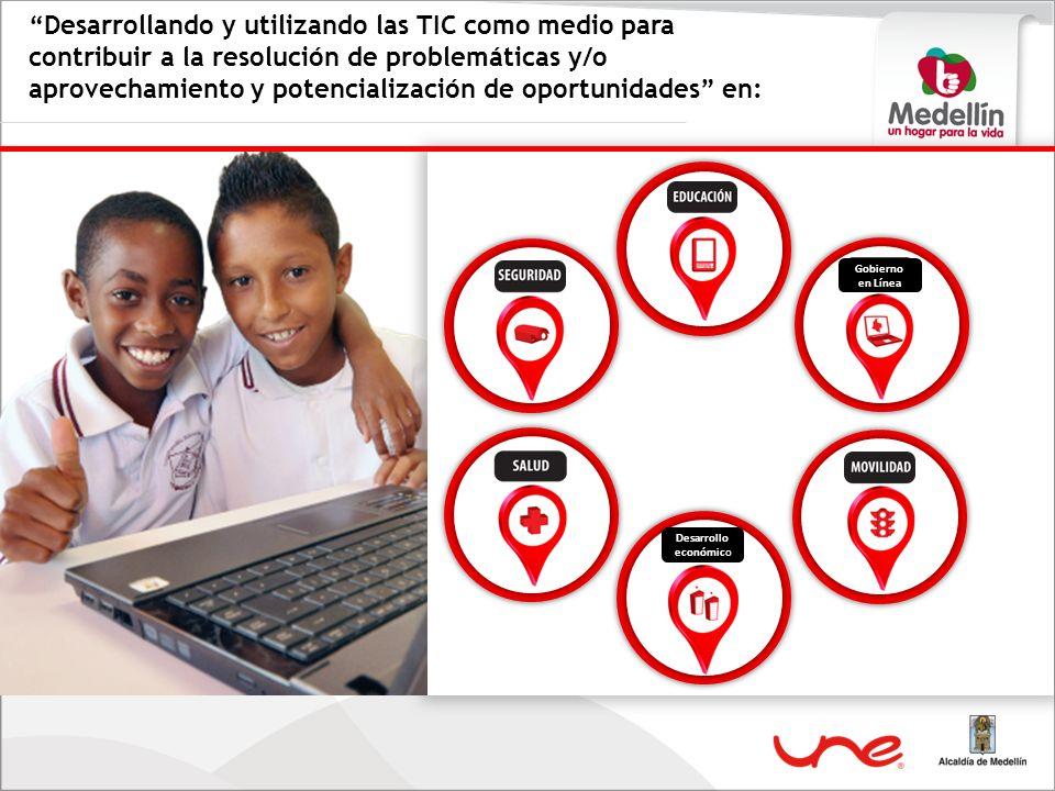 Desarrollando y utilizando las TIC como medio para contribuir a la resolución de problemáticas y/o aprovechamiento y potencialización de oportunidades