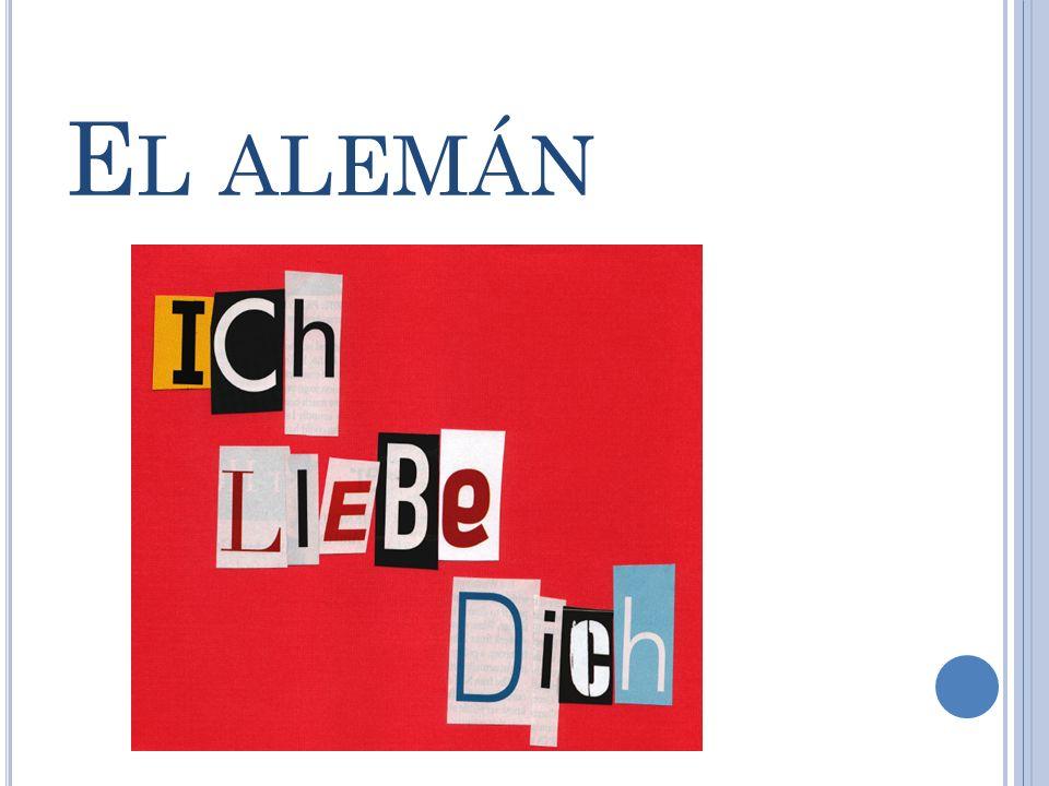 E L ALEMÁN