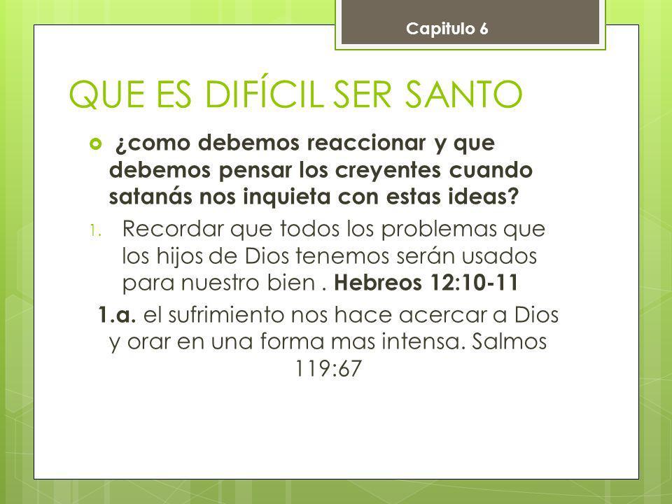 2.Nuestros problemas no pueden cambiar el hecho de que Dios nos ama.