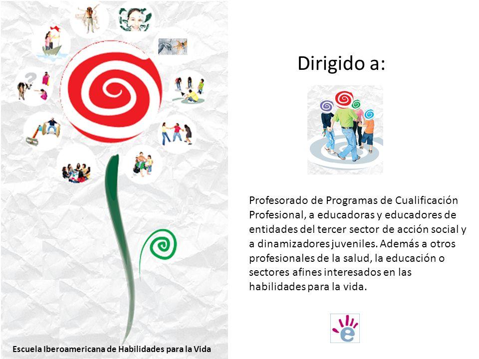 Dirigido a: Profesorado de Programas de Cualificación Profesional, a educadoras y educadores de entidades del tercer sector de acción social y a dinamizadores juveniles.