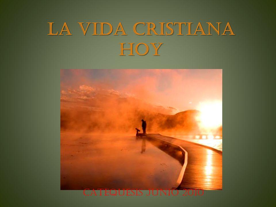 LA VIDA CRISTIANA HOY CATEQUESIS JUNIO 2010