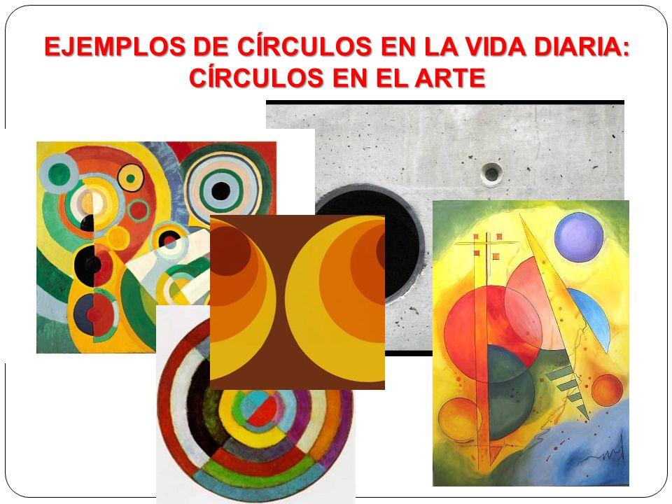 Círculos en el Arte EJEMPLOS DE CÍRCULOS EN LA VIDA DIARIA: CÍRCULOS EN EL ARTE