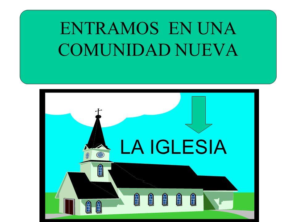 ENTRAMOS EN UNA COMUNIDAD NUEVA LA IGLESIA