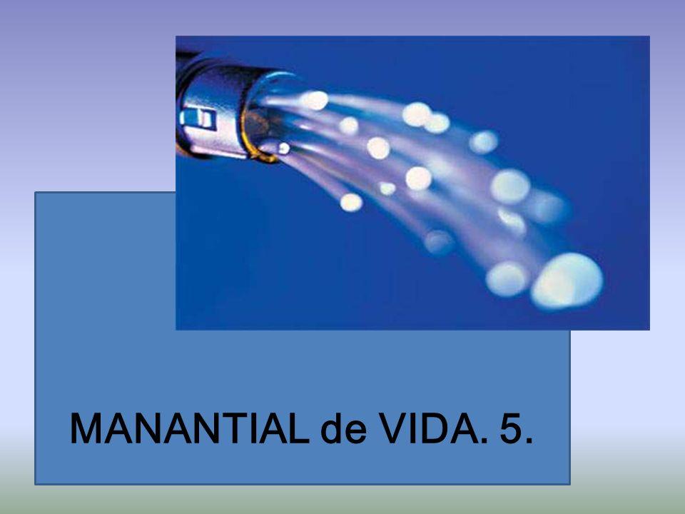 MANANTIAL de VIDA. 5.