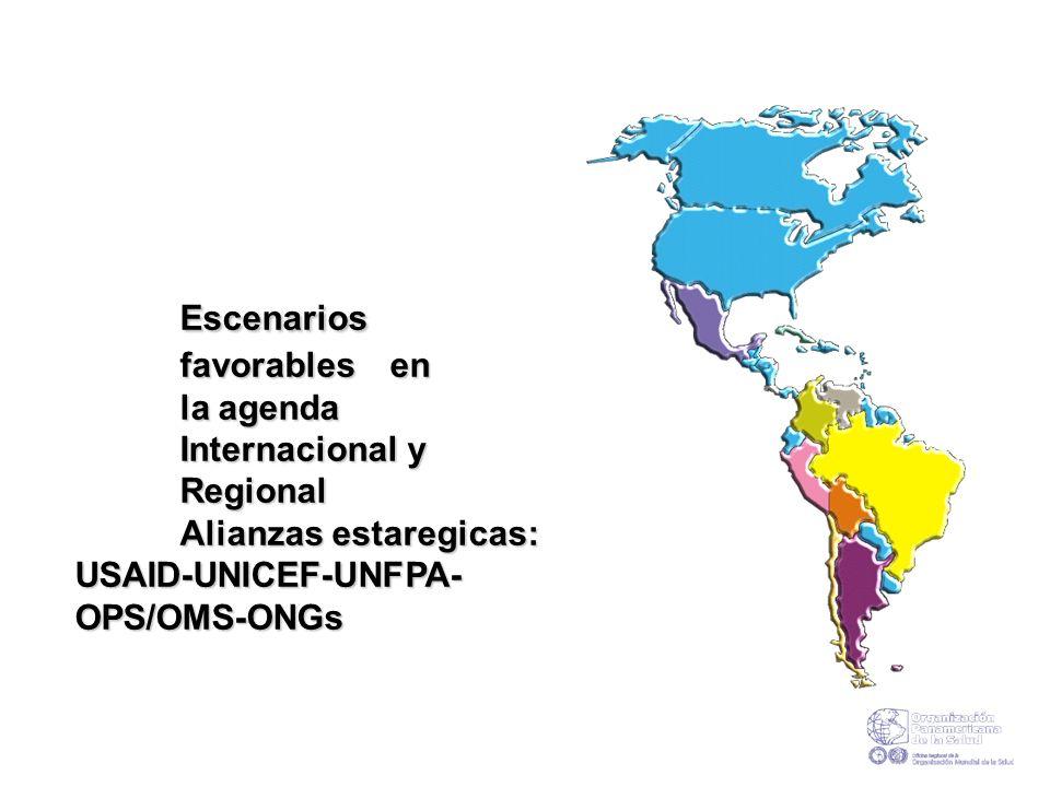 Escenarios I. Escenarios favorables en favorables en la agenda la agenda Internacional y Regional Internacional y Regional Alianzas estaregicas: Alian