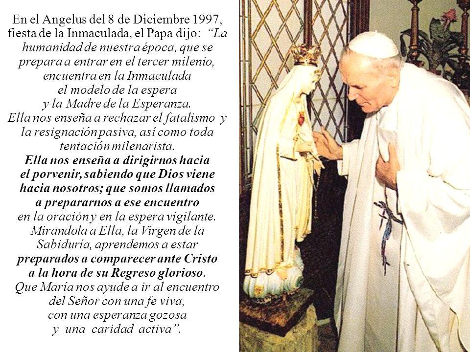El 13 de Mayo de 1981 era el 64° aniversario de la primera aparición de Nuestra Señora, Reina de la Paz, en Fátima Ese día, a las 17 horas y 19 minuto