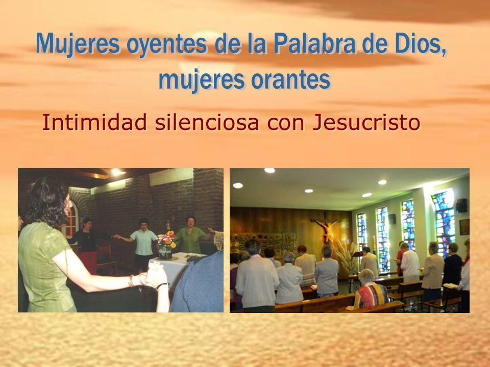 Intimidad silenciosa con Jesucristo