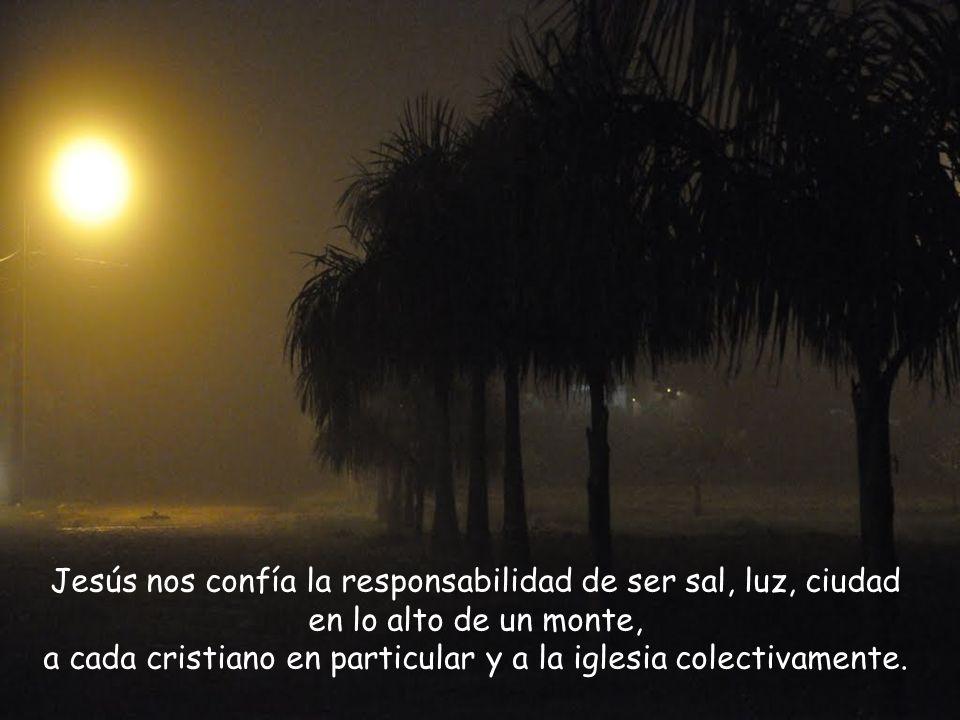 Cristo es la luz del mundo. El cristiano, portador de la luz de Cristo, ha de ser testimonio con sus obras y palabras, de la fe que recibió en el baut