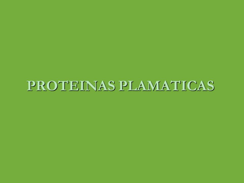PROTEINAS PLASMATICAS plasma ; fracción liquida de la sangre ( parte no celular ) alrededor del 60% de la sangre es plasma volumen plasmático normal; 5% del peso corporal total 5% del peso corporal total 3500 ml 3500 ml Constituido por ; 1.Agua 2.Electrolitos 3.Metabolitos 4.Nutrientes 5.Proteínas 6.hormonas