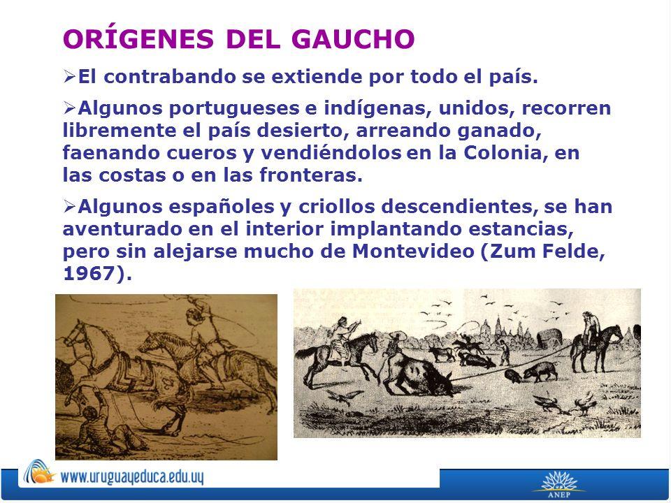 El contrabando se extiende por todo el país. Algunos portugueses e indígenas, unidos, recorren libremente el país desierto, arreando ganado, faenando