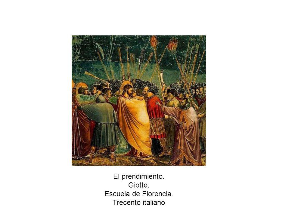 Resurrección de Lázaro. Giotto. Escuela de Florencia. Trecento italiano Llanto sobre el Cristo muerto