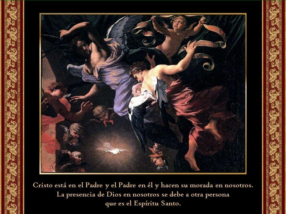 San Juan de la Cruz, dice que cuantos grados de amor de Dios el alma puede tener, tantos centros puede tener en Dios, uno más adentro que otro; porque