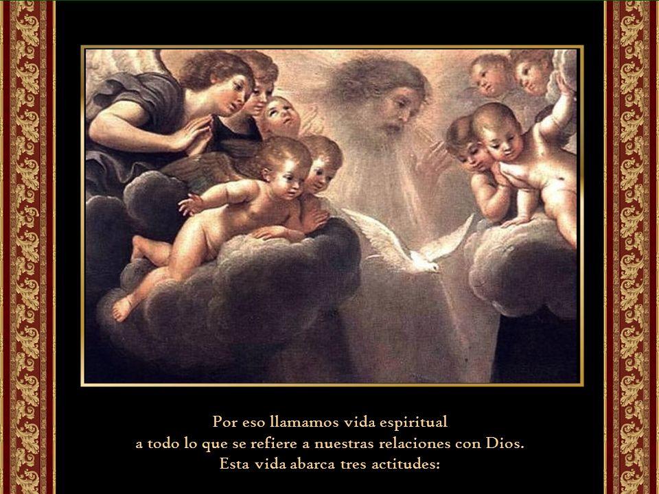 Cristo está en el Padre y el Padre en él y hacen su morada en nosotros. La presencia de Dios en nosotros se debe a otra persona que es el Espíritu San
