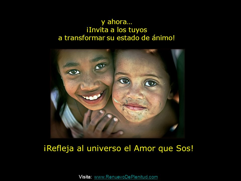 ¡Celebra la vida! Visita: www.RenuevoDePlenitud.comwww.RenuevoDePlenitud.com