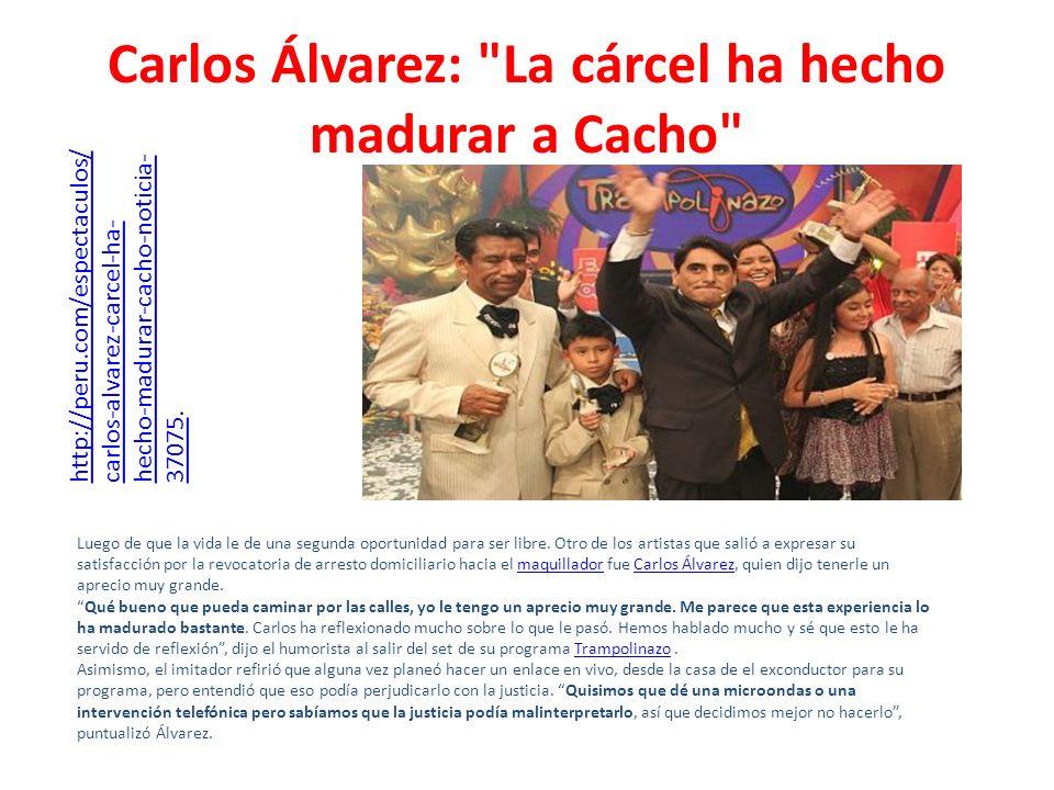 Carlos Álvarez: