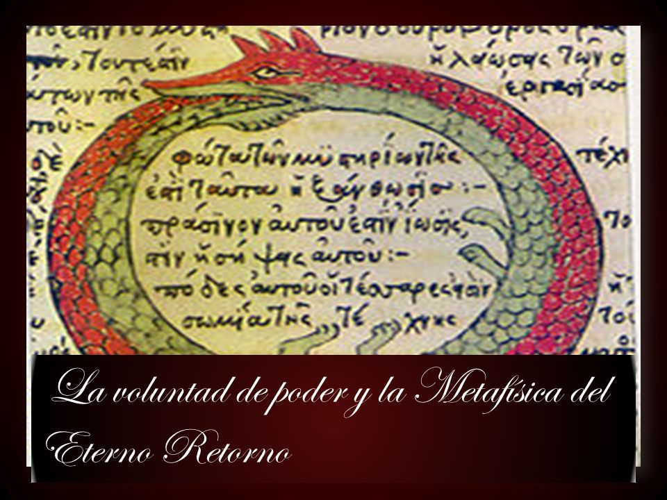 La voluntad de poder y la Metafísica del Eterno Retorno