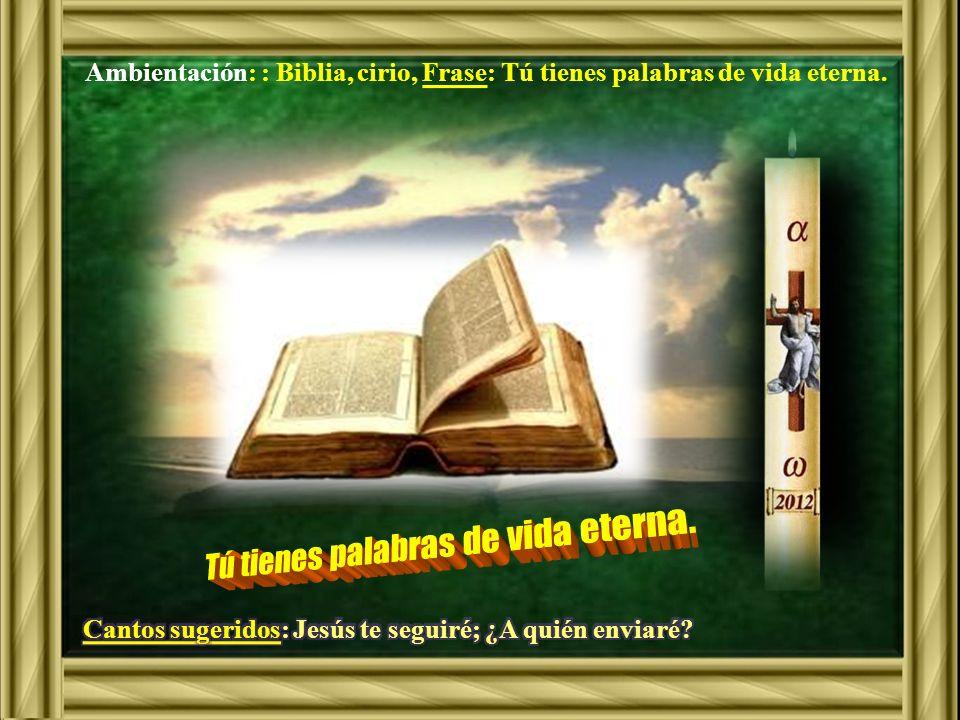 Juan 6, 60-69Juan 6, 60-69